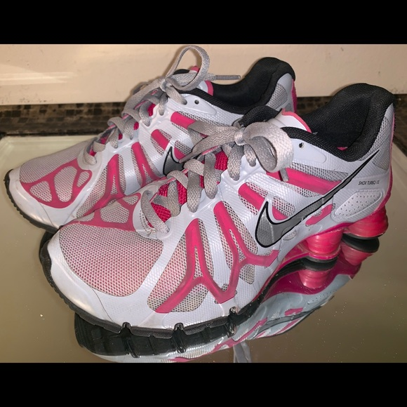 competitive price ca382 95a36 Nike Shox Turbo 13 Women's Running Shoes Size 7.5